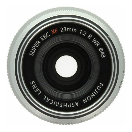 Fujifilm 23mm 1:2.0 XF R WR silber gut