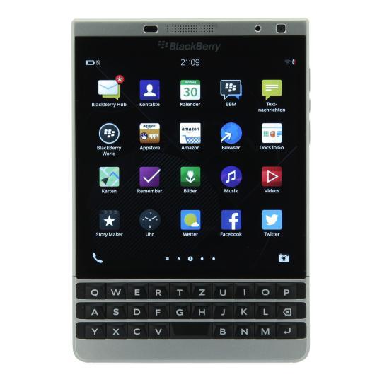 BlackBerry Passport Silver Edition 32 GB Silber gut