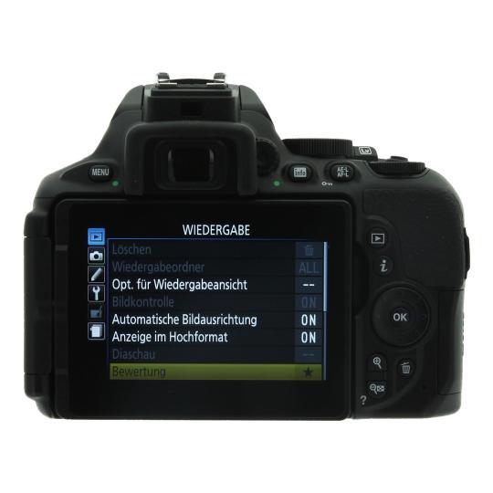 Nikon D5600 Schwarz wie neu