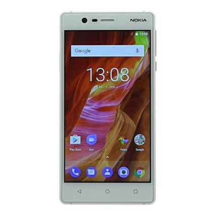 Nokia 3 Single-Sim 16Go argent Bon
