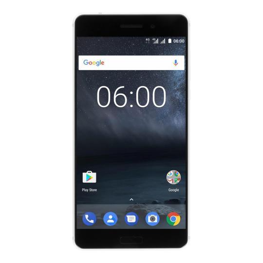 Nokia 6 Dual-Sim 32Go argent Bon