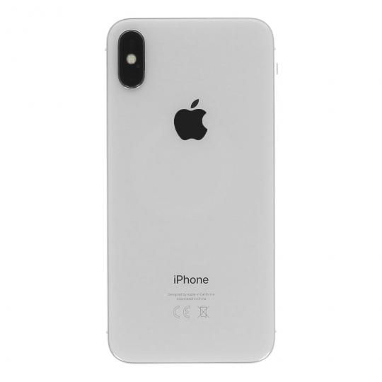 apple iphone x 64gb silber gut asgoodasnew. Black Bedroom Furniture Sets. Home Design Ideas