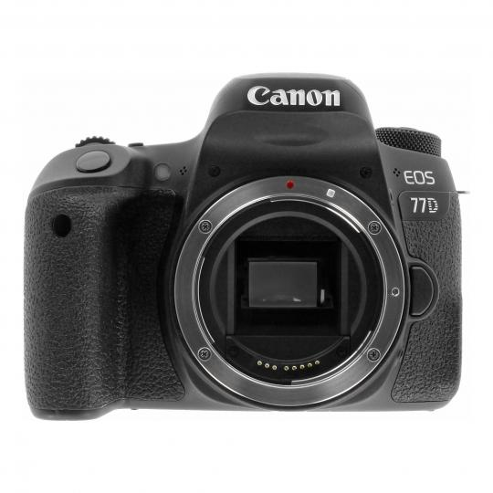 Canon EOS 77D schwarz sehr gut