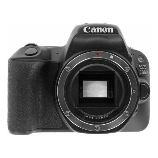 Canon EOS 200D schwarz gut