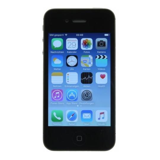 Apple iPhone 4 (A1332) 16 GB negro buen estado