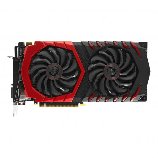 MSI GeForce GTX 1080 Gaming X+ (V336-060R) schwarz/rot gut
