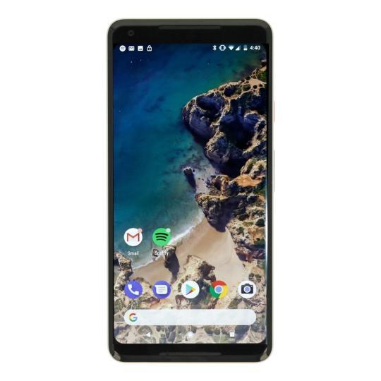 Google Pixel 2 XL 64GB schwarz/weiß gut