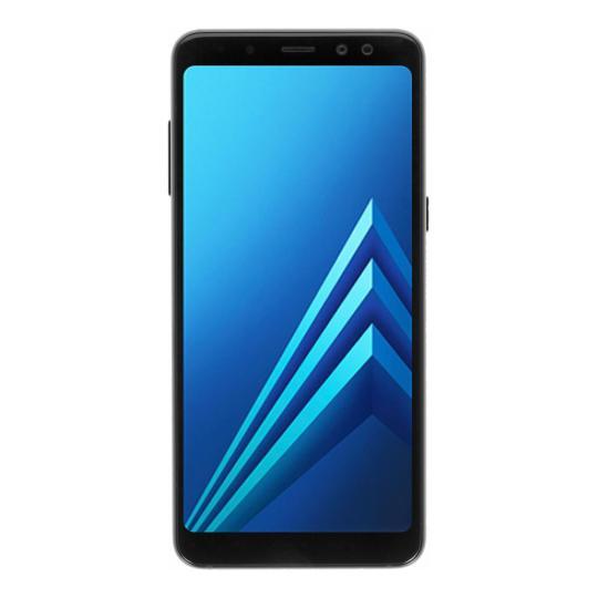 Samsung Galaxy A8 (2018) Duos (A530F/DS) 32GB schwarz sehr gut