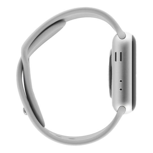 Apple Watch Series 3 boitier en aluminiumargent 38mm avec Bracelet sport  gris (GPS + Cellular d7fbb143710d
