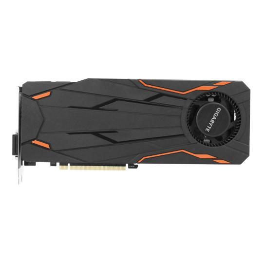 Gigabyte GeForce GTX 1080 Turbo OC 8G (GV-N1080TTOC-8GD) schwarz wie neu