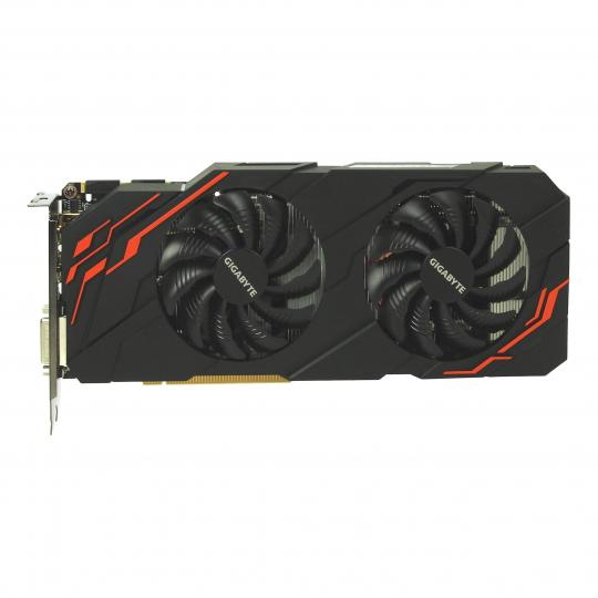 Gigabyte GeForce GTX 1070 Ti Windforce 8G (GV-N107TWF2-8GD) negro buen estado