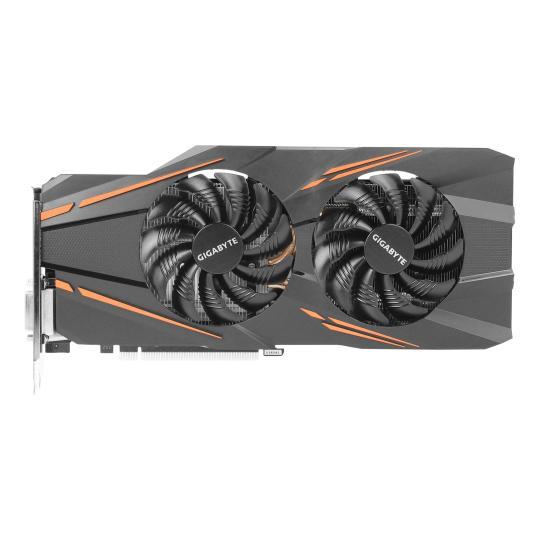 Gigabyte GeForce GTX 1070 Windforce OC (GV-N1070WF2OC-8GD) schwarz wie neu