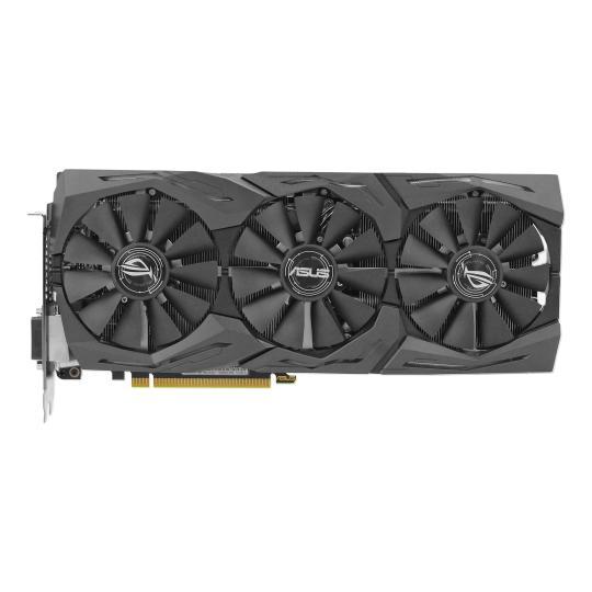 Asus ROG Strix GeForce GTX 1070 (90YV09N2-M0NA00) schwarz gut
