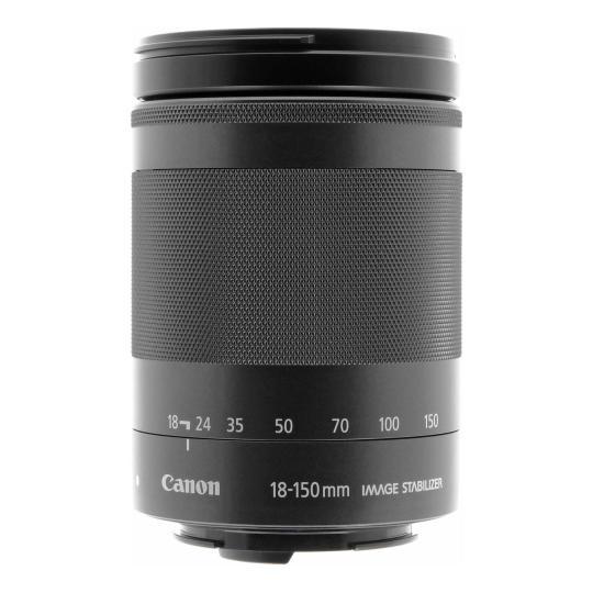 Canon 18-150mm 1:3.5-6.3 EF-M IS STM schwarz gut