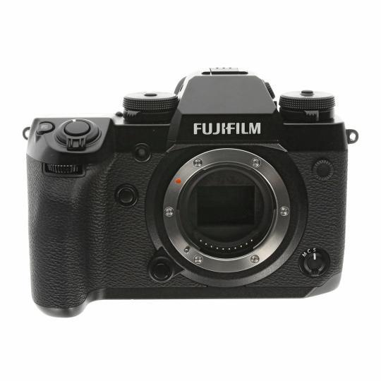 Fujifilm X-H1 schwarz sehr gut