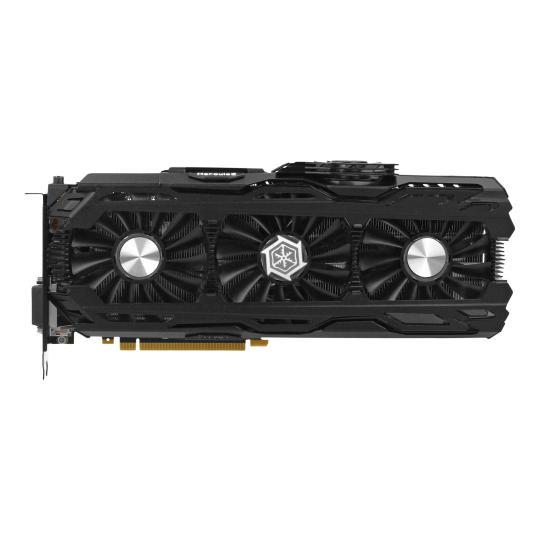 Inno3D GeForce GTX 1080 Ti iChill X4 Ultra (C108T4-1SDN-Q6MNX) schwarz wie neu