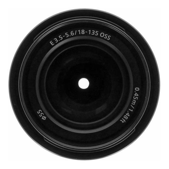 Sony 18-135mm 1:3.5-5.6 OSS (SEL18135) schwarz gut