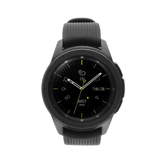 Samsung Galaxy Watch 42mm (SM-R810) schwarz gut