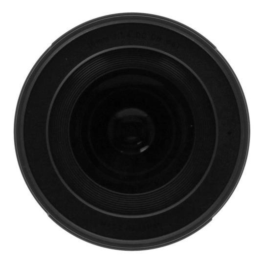 Sigma 16mm 1:1.4 Contemporary AF DC DN für Sony E (402965) schwarz sehr gut