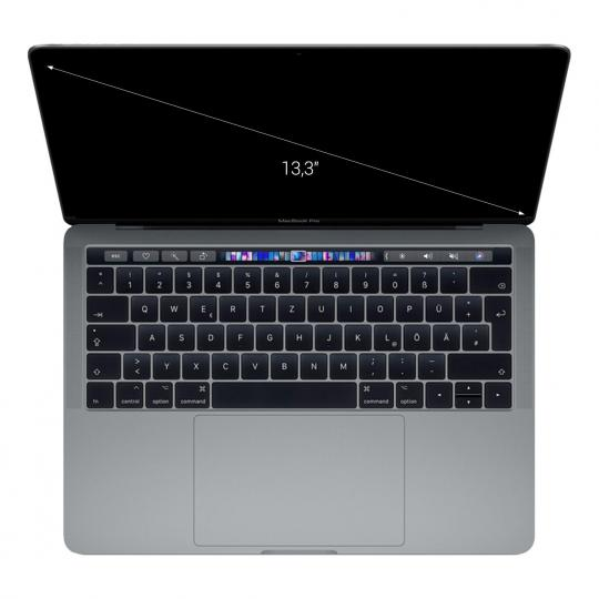 "Apple MacBook Pro 2018 13"" Touch Bar/ID Intel Core i5 2,30 GHz 512 GB SSD 16 GB spacegrau wie neu"