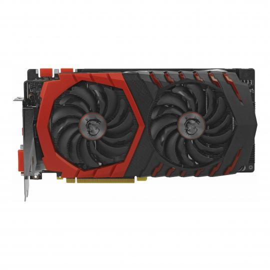 MSI GeForce GTX 1070 Gaming X 8G (V330-001R) schwarz & rot neu