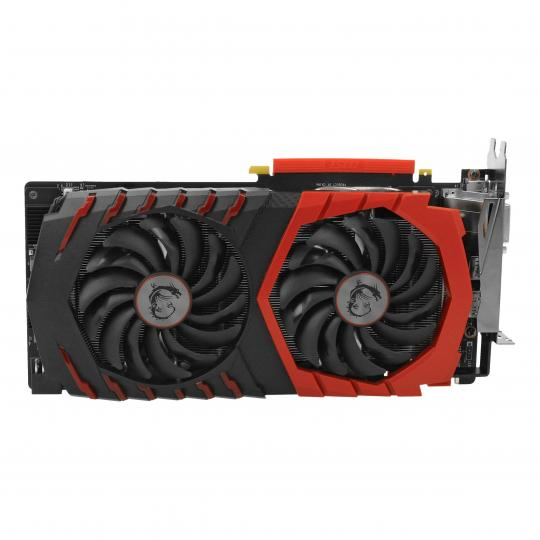 MSI GeForce GTX 1080 Gaming X 8G (V336-001R) schwarz & rot neu