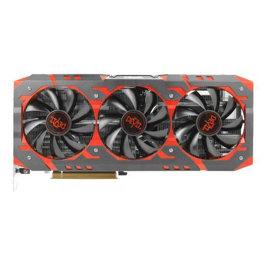 PowerColor Radeon RX Vega 56 Red Devil (AXRX VEGA 56 8GBHBM2-2D2H/OC) schwarz / rot sehr gut