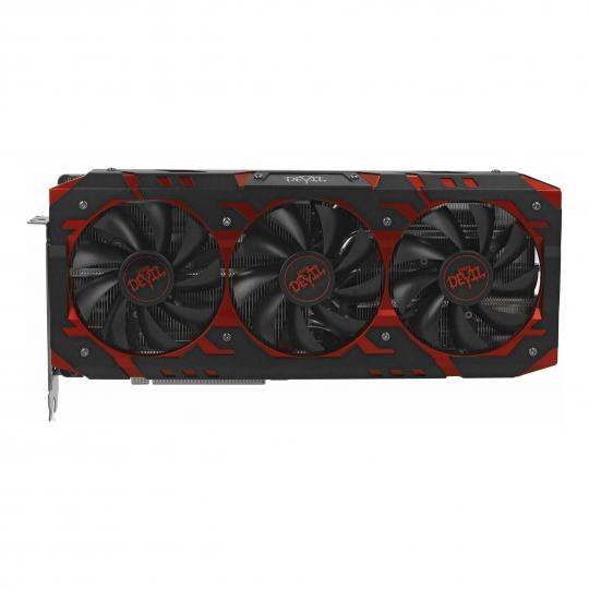 PowerColor Radeon RX Vega 64 Red Devil (AXRX VEGA 64 8GBHBM2-2D2H/OC) schwarz / rot gut