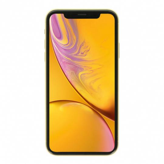 Apple iPhone XR 128GB gelb gut