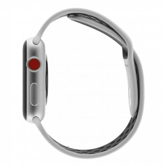 468aab0641a Apple Watch Series 3 42mm caja de aluminio en plata y correa sport Nike+  puro platinum