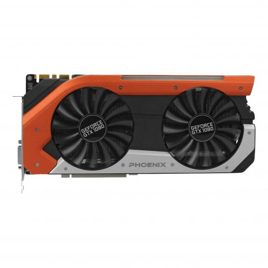 Gainward GeForce GTX 1080 Phoenix (3651) schwarz & rot gut
