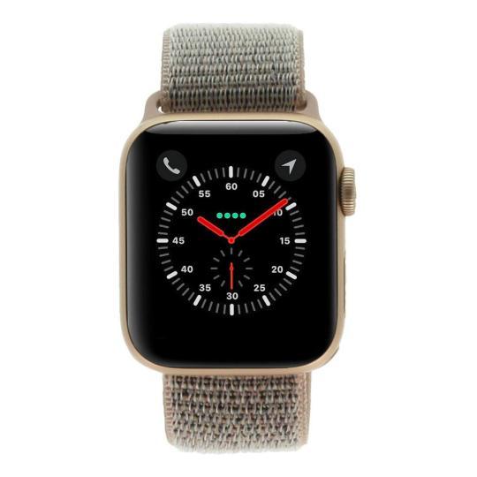 Apple Watch Series 4 - caja de aluminio en oro 40mm - correa Loop deportiva rosa arena (GPS) buen estado