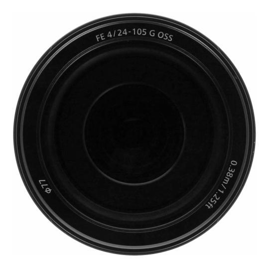 Sony 24-105mm 1:4.0 FE G OSS (SEL24105G) schwarz gut