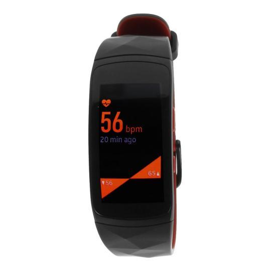 Samsung Samsung Gear Fit 2 Pro (R365) schwarz & rot gut