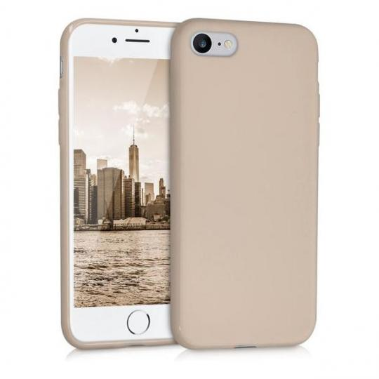 kwmobile TPU Case für Apple iPhone 7 / 8 beige matt (39458.11) neu