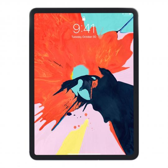 "Apple iPad Pro 12,9"" +4G (A1895) 2018 256GB silber gut"