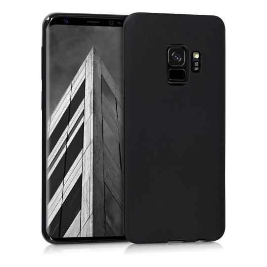 kwmobile TPU Case für Samsung Galaxy S9  schwarz matt (44089.47) neu