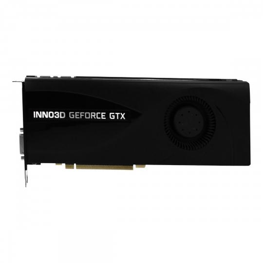 Inno3D GeForce GTX 1070 Jet (N1070-2DDN-P5DN) schwarz wie neu