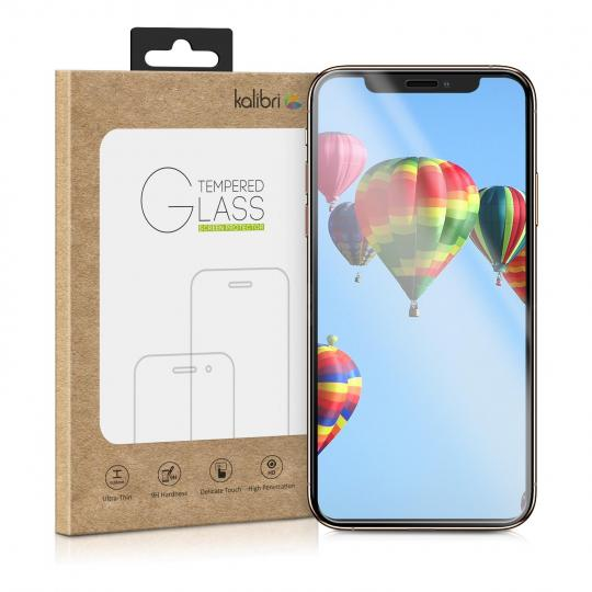 kwmobile Glas Folie für Apple iPhone XS kristallklar (46529.1) neu