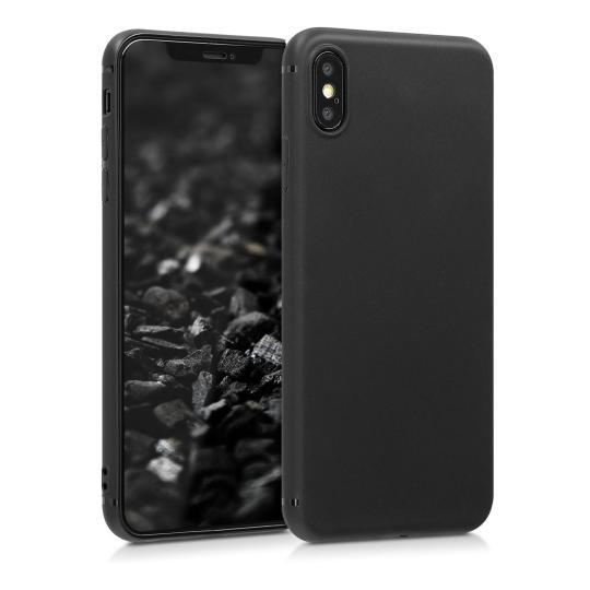 kwmobile TPU Case für Apple iPhone XS Max schwarz (46482.01) neu