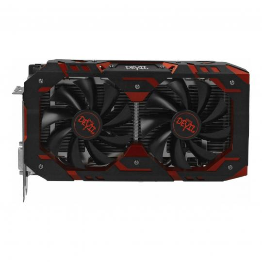 PowerColor Radeon RX 590 Red Devil (AXRX 590 8GBD5-3DH/OC) schwarz/rot gut