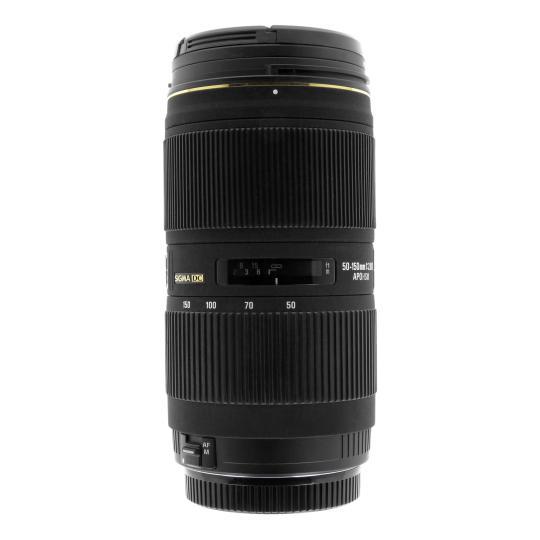 Sigma 50-150mm 1:2.8 AF EX DC APO HSM II für Canon EF schwarz gut