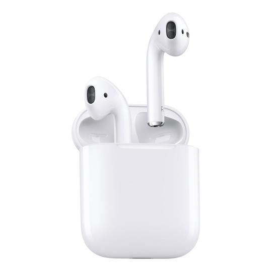 Apple AirPods con estuche de carga sin cable (2019) blanco