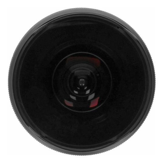 Pentax smc DA 10-17mm 3.5-4.5 ED Fisheye-Zoom (21580) negro buen estado