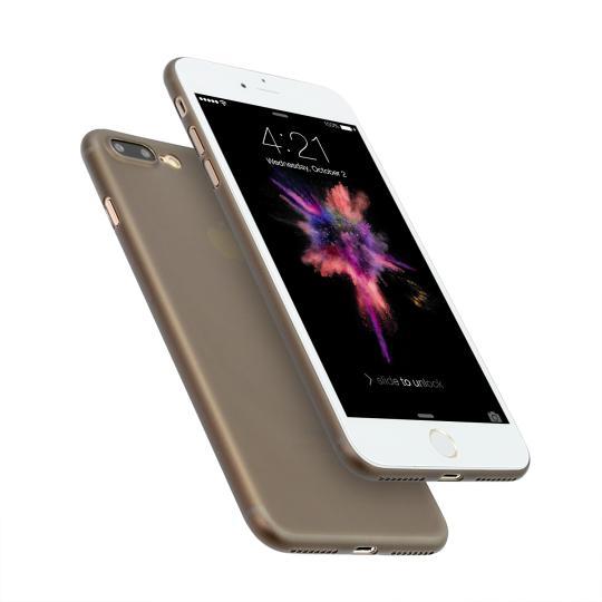 Hard Case für Apple iPhone 7 Plus / 8 Plus -ID16995 schwarz/durchsichtig neu