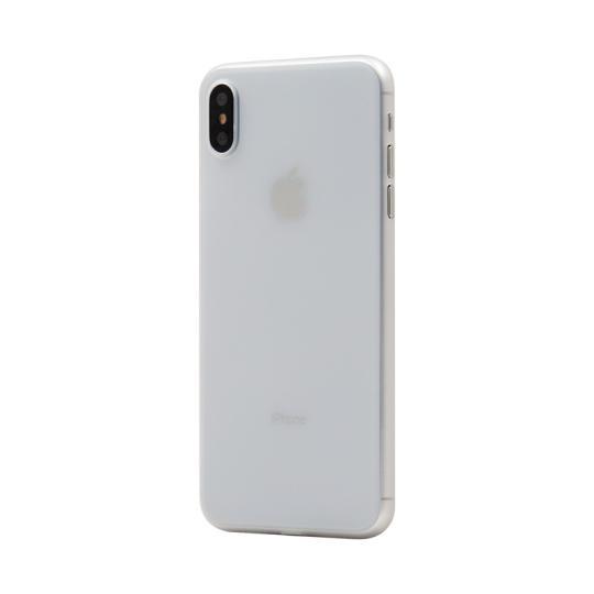 Hard Case für Apple iPhone XS -ID17005 weiß/transparent neu