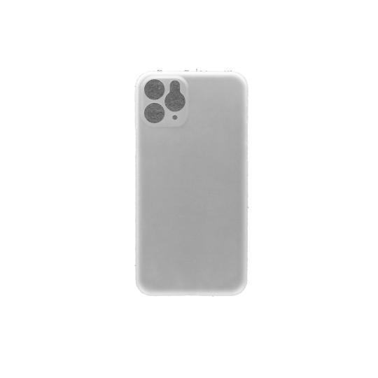 coiincase Ultra Slim PP Case für Apple iPhone 11 Pro *ID17027 weiss/transparent neu