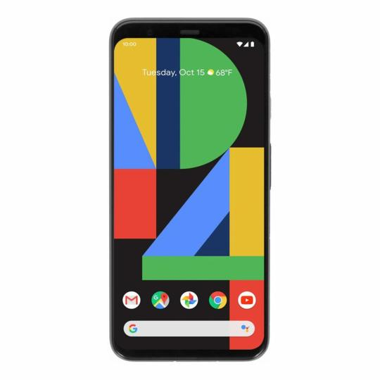 Google Pixel 4 64GB schwarz wie neu