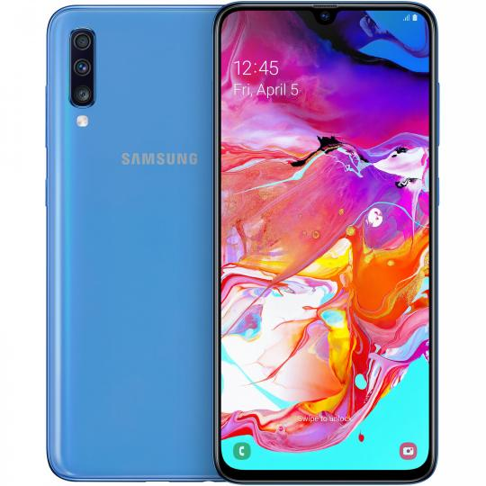 Samsung Galaxy A70 Duos A705F/DS 128GB blau neu