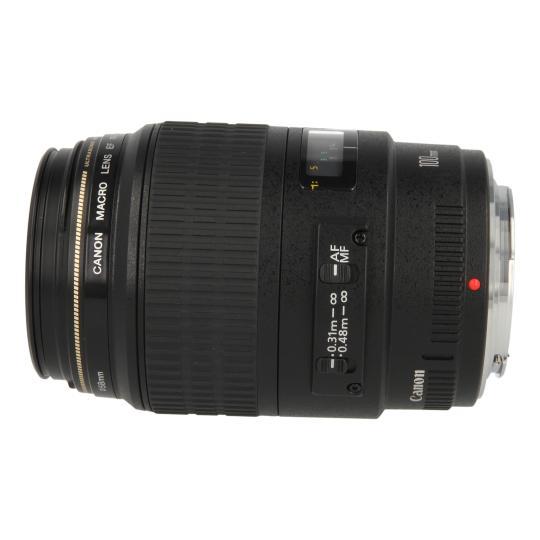 Canon EF 100mm 1:2.8 USM Macro negro buen estado